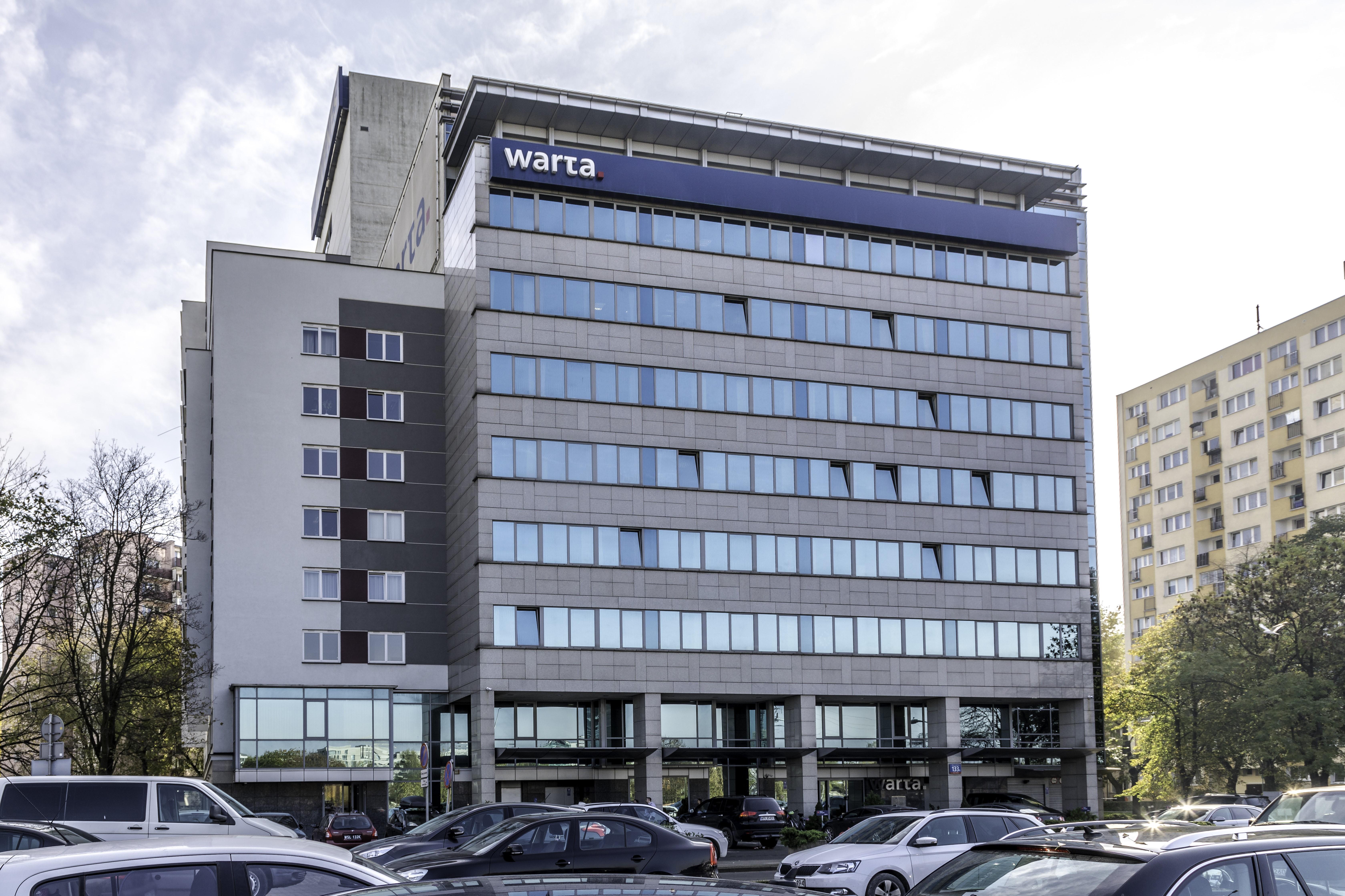 Warta biurowiec w centrum Warszawy