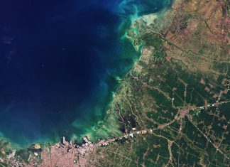 Semarang_Indonesia fot. ESA kosmos
