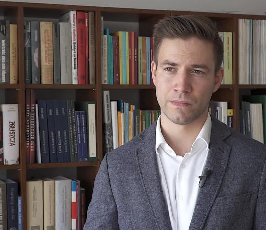 Wojciech Jakóbik, redaktor naczelny portalu BiznesAlert