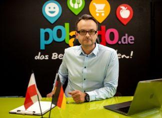 Artur Kasiubowski, założyciel firmy POLANDO.de