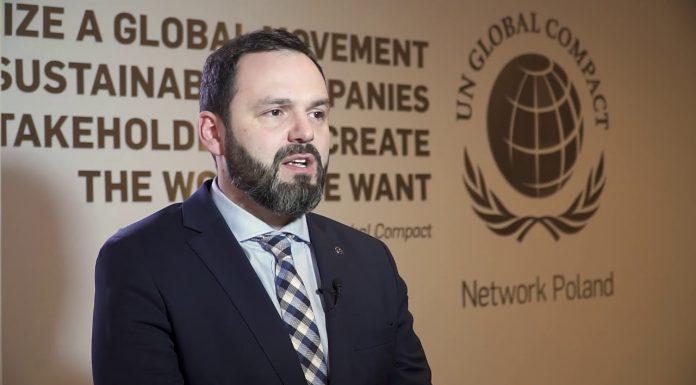 Kamil Wyszkowski, przedstawiciel i prezes Rady Global Compact Network Poland