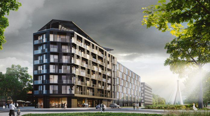 Powiśle BJK, spółka należąca do Grupy BJK – apartamentowiec przy ul. Dobrej 32