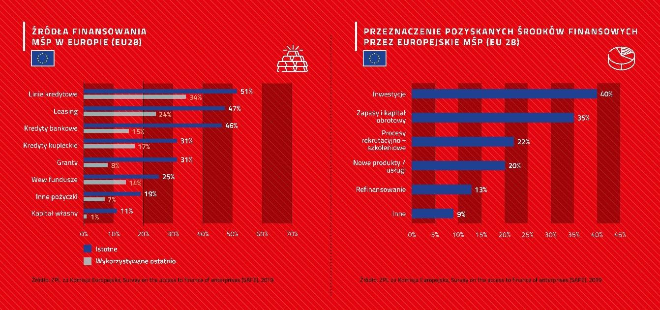 Źródła finansowania polskich MŚP