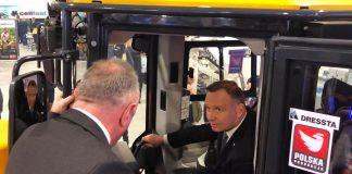 Prezydent Andrzej Duda o chińskiej inwestycji w Stalowej Woli (1)