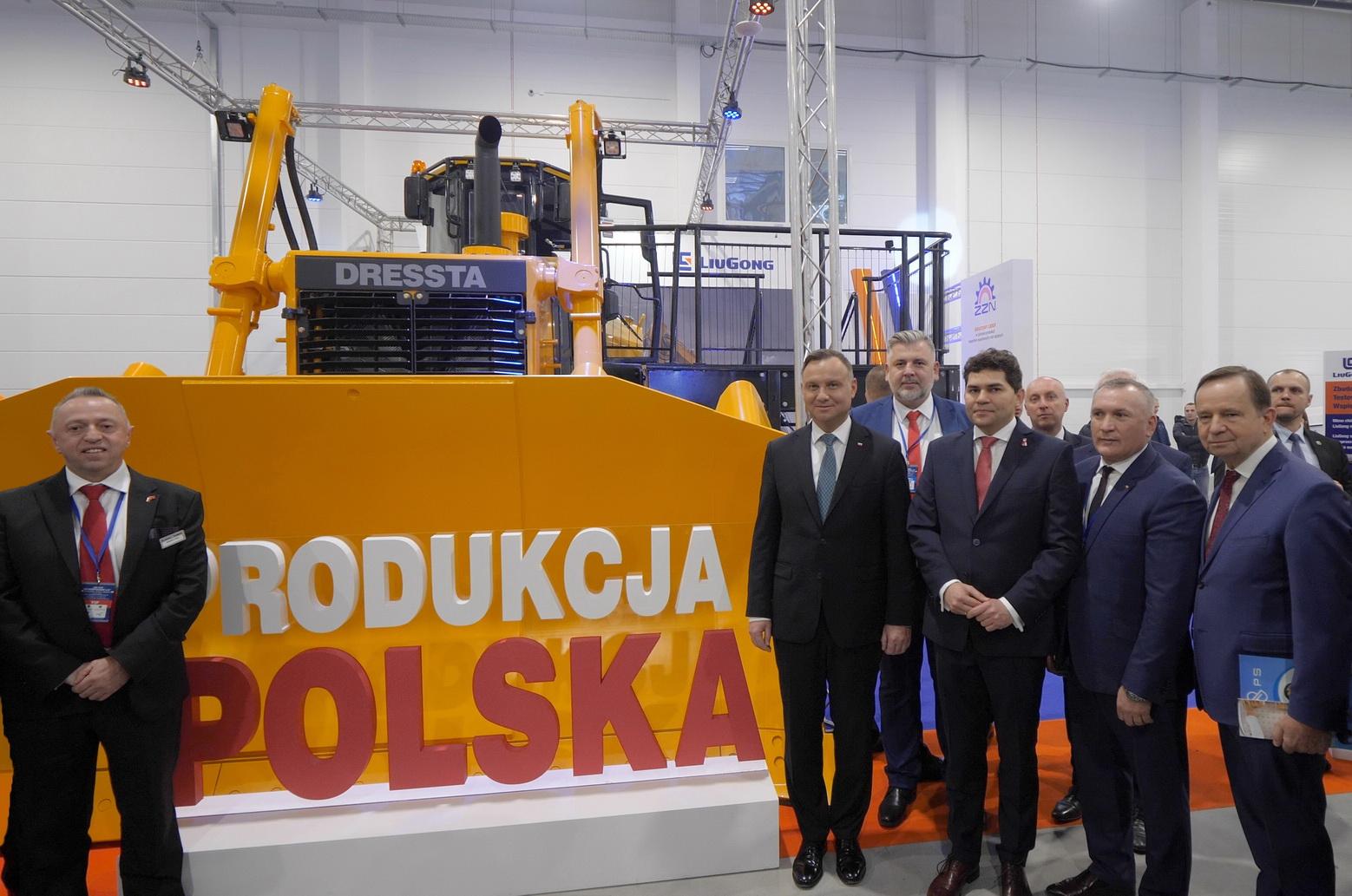 Prezydent Andrzej Duda o chińskiej inwestycji w Stalowej Woli (2)