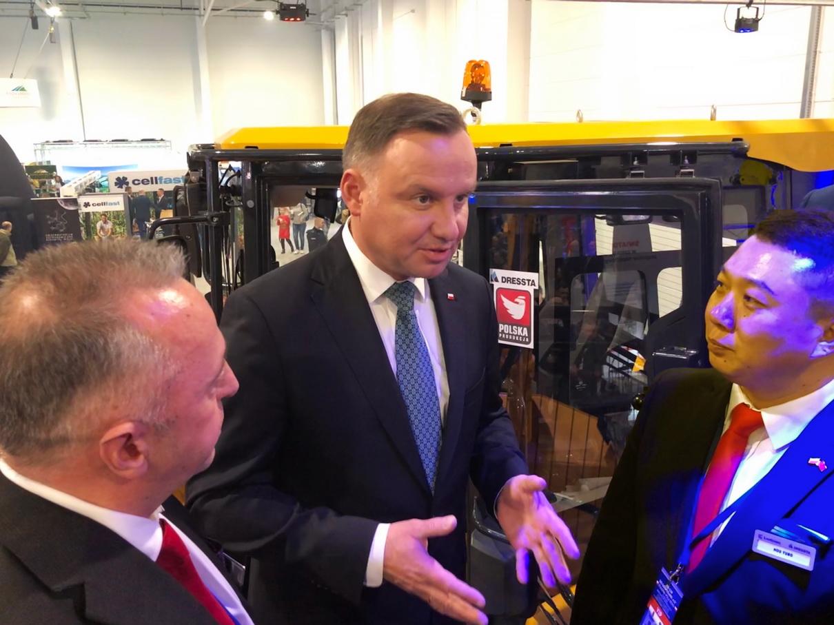 Prezydent Andrzej Duda o chińskiej inwestycji w Stalowej Woli (4)