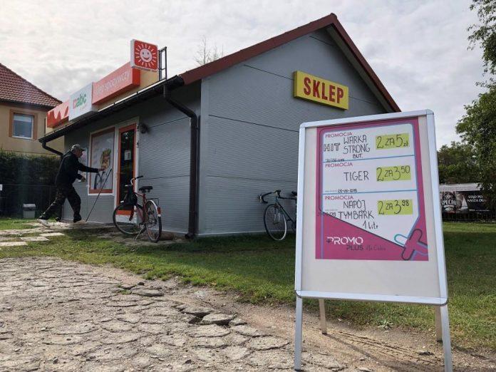 mały sklep
