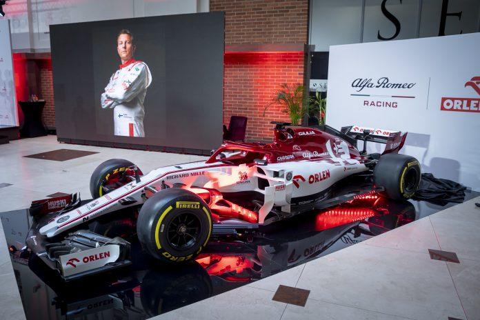 Alfa Romeo Racing ORLEN w Warszawie 1