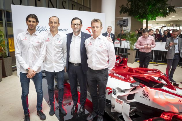 Alfa Romeo Racing ORLEN w Warszawie 3
