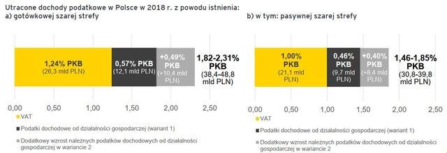 szara strefa w Polsce 2018 EY