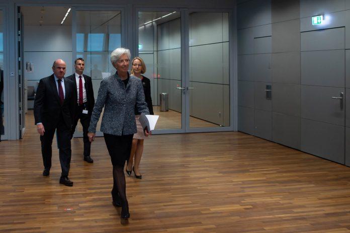 Christine Lagarde, Europejski Bank Centralny