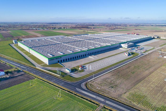 Centrum logistyczne Leroy Merlin_fot_Kajima Poland_