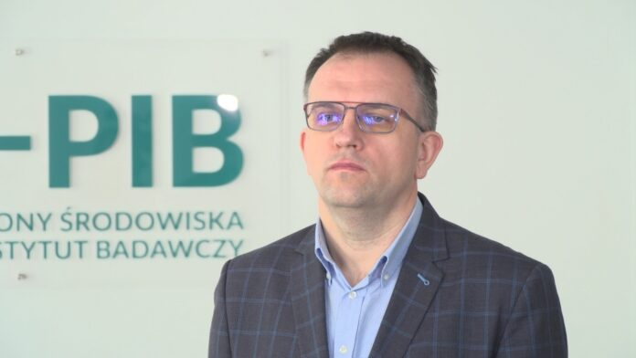 dr inż. Krystian Szczepański, dyrektor Instytutu Ochrony Środowiska – Państwowego Instytutu Badawczego