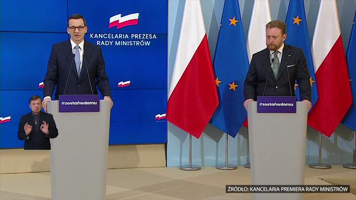 Premier Mateusz Morawiecki: Zakładamy scenariusz, że polska gospodarka będzie zamknięta przez dłuższy czas. Dopóki nie ma szczepionki, wszystko zależy od przestrzegania nałożonych ograniczeń 1