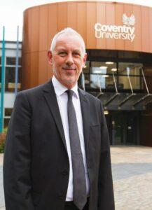 John Dishman, Prorektor Uniwersytetu Coventry oraz Dyrektor Generalny Grupy Uniwersytetu Coventry