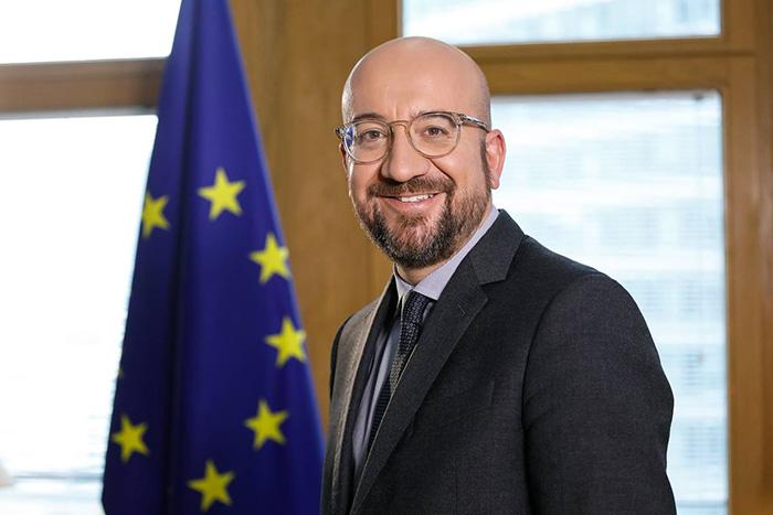 Charles Michel, przewodniczący Rady Europejskiej