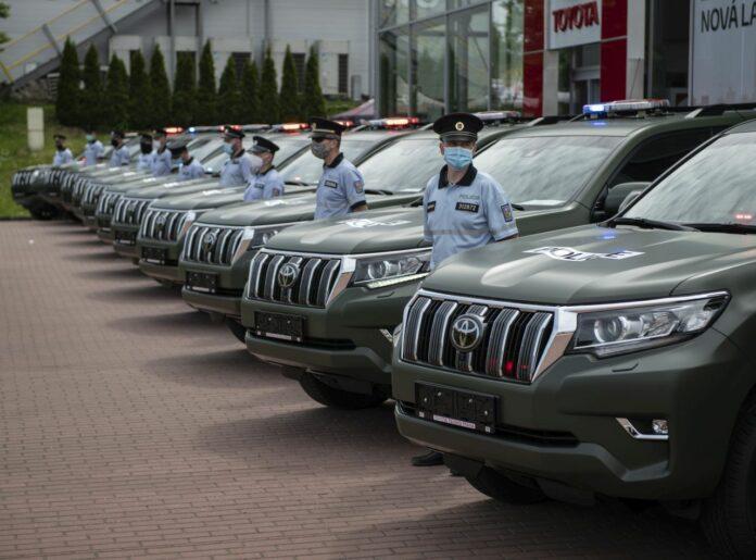 Czeska Policja będzie jeździć Land Cruiserami