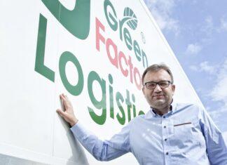 Piotr Pietrzykowski, prezes firmy Green Factory Logistics