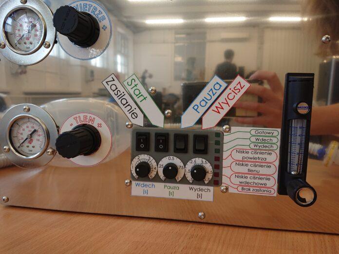 """prototyp respiratora """"ostatniej szansy"""""""