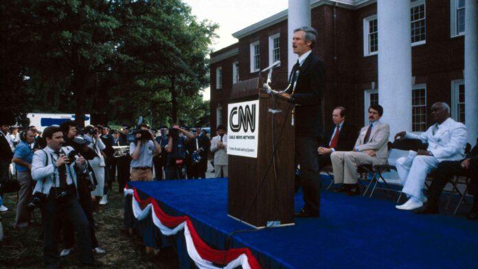 CNN launch_Ted Turner