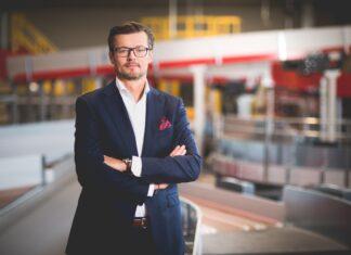 Edwin Osiecki, wiceprezes ds. marketingu i sprzedaży w DHL Express