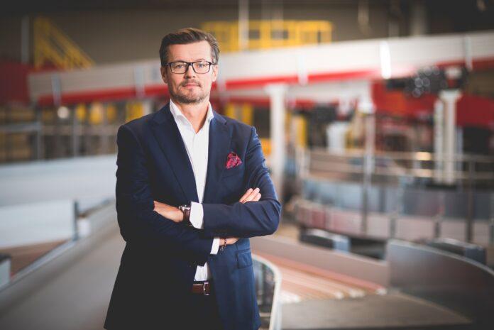 Edwin Osiecki, Vizepräsident für Marketing und Vertrieb bei DHL Express