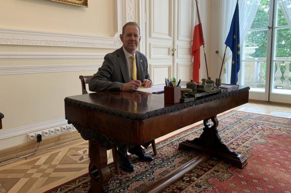 prof. ucz. dr hab. Marcin Pałys, Rektor Uniwersytetu Warszawskiego
