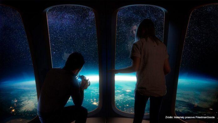 W kosmos polecimy balonem. Ziemię z wysokości ponad 30 kilometrów będzie można obejrzeć z kapsuły z widokiem 360 stopni [DEPESZA]