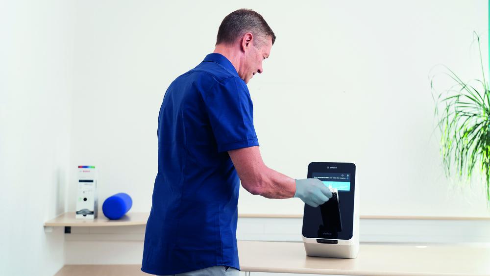 Nowy szybki test na koronawirusa opracowany przez Bosch 3