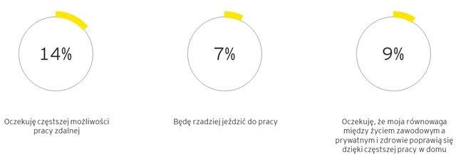 Oczekiwania Polaków dotyczące zmian w sposobie pracy