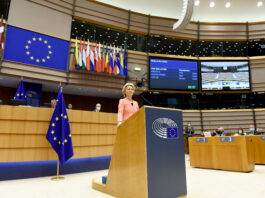 2020 State of the Union address by Ursula von der Leyen, President of the European Commission, to the European Parliament