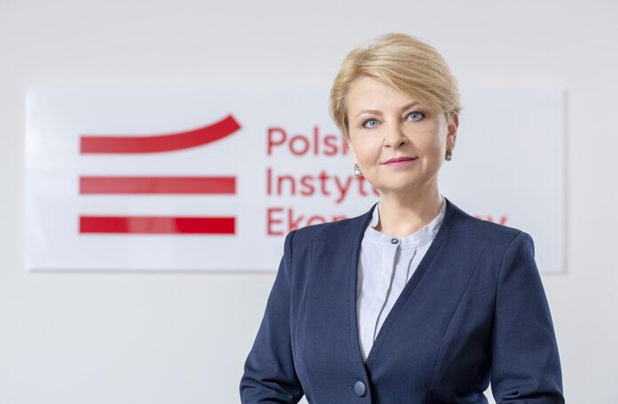 Katarzyna Dębkowska, kierowniczka zespołu foresightu gospodarczego w Polskim Instytucie Ekonomicznym