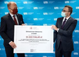 Ponad 11 mln zł na stworzenie Centrum Wsparcia Badań Klinicznych przy Uniwersytecie Medycznym w Łodzi