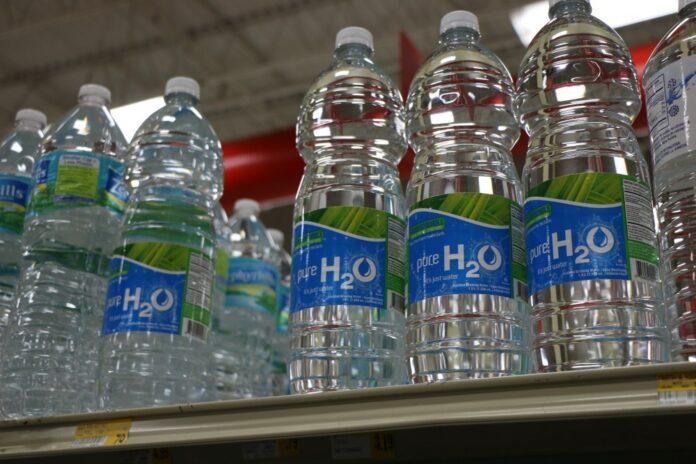 plastik woda