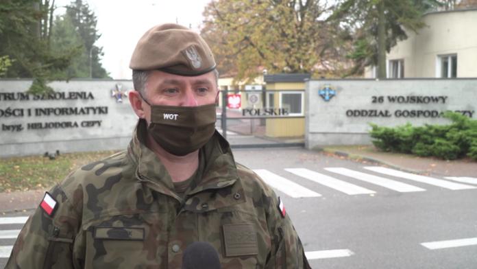 Wielka mobilizacja Wojsk Obrony Terytorialnej do walki z pandemią. Żołnierzy przybywa w szpitalach i punktach pobrań