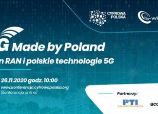 5G Made By Poland konferencja o udziale polskich firm w budowie sieci 5G