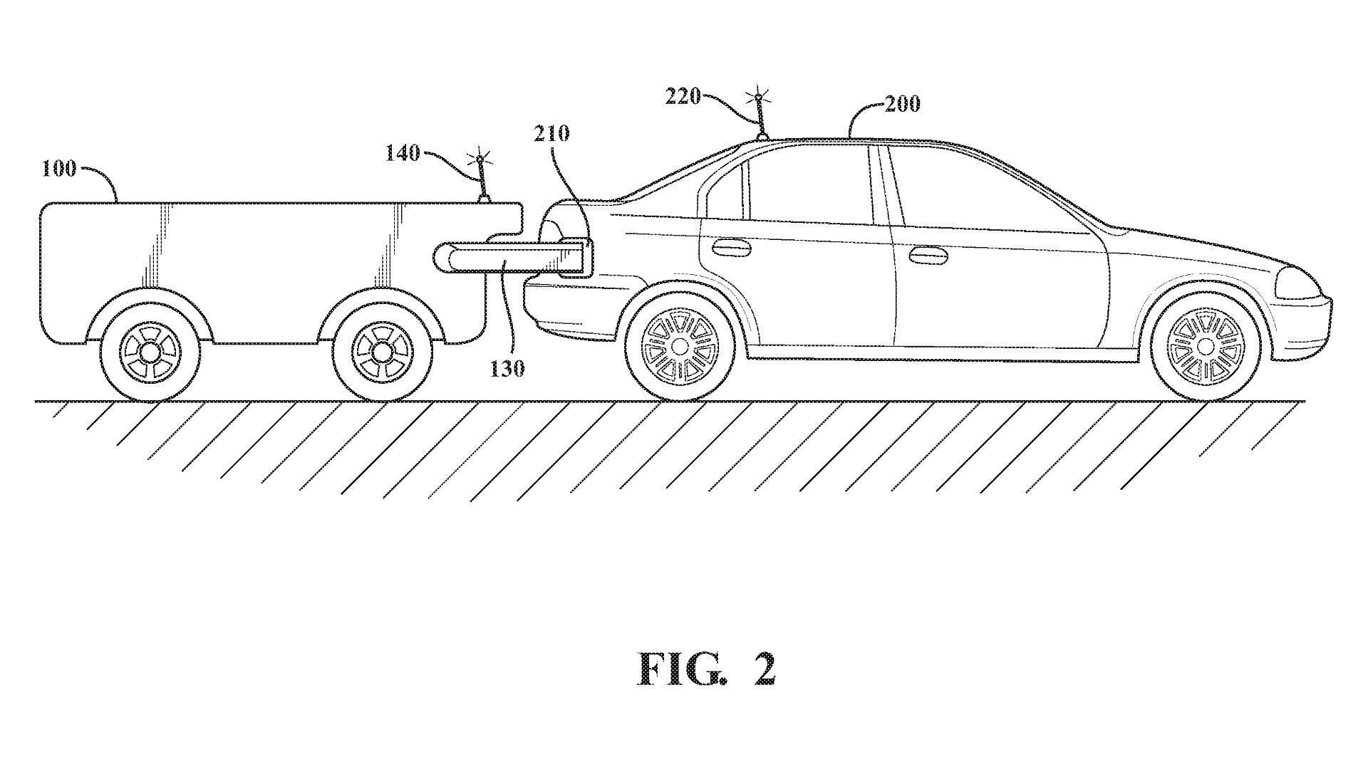 Autonomiczne pojazdy do ładowania i tankowania samochodów – nowy patent Toyoty