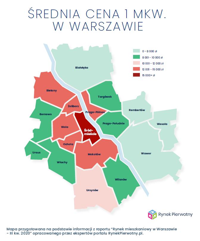 Ile zapłacisz za nowe mieszkanie w Warszawie