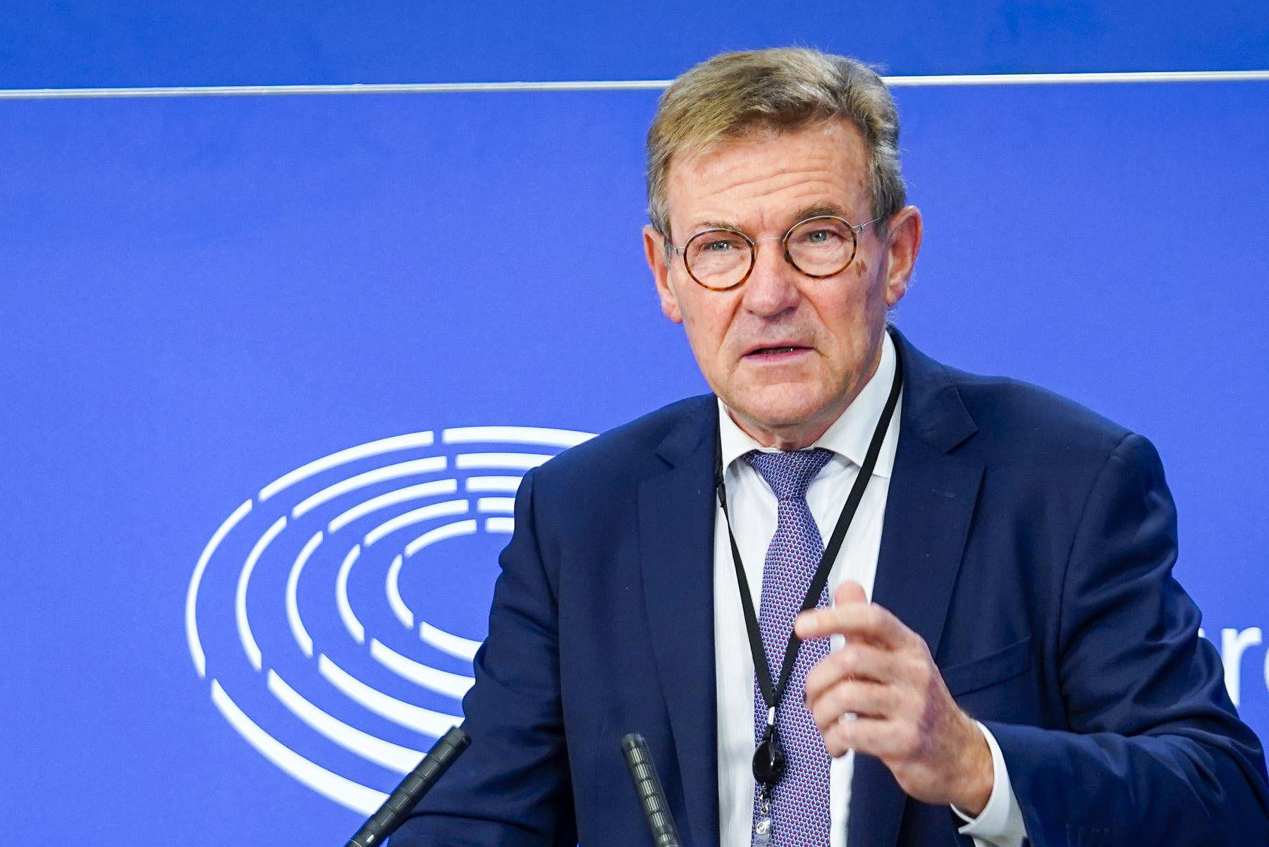 Przewodniczący Komisji Budżetowej PE Johan Van Overtveldt