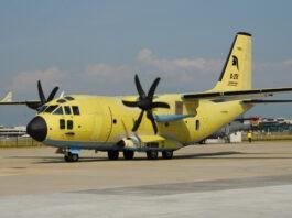 Leonardo samolot C-27J Spartan
