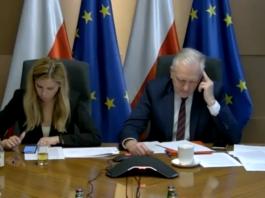 Wicepremier Jarosław Gowin spotkał się z przedsiębiorcami podczas posiedzenia Rady Przedsiębiorców