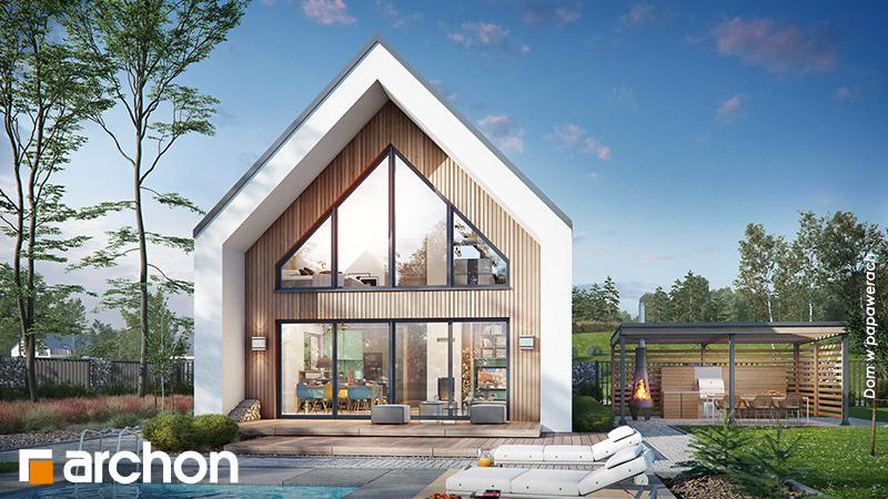 Energooszczędny dom w stylu nowoczesnej stodoły