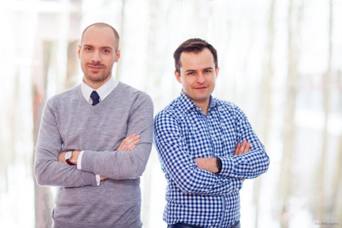 Piotr Bajtala, współzałożyciel HealthUp, dr Łukasz Kołtowski, prezes i współzałożyciel HealthUp
