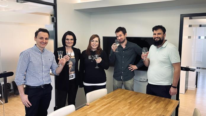 Marcin Łączyński (Next Road Ventures), Dorota Rymaszewska, Ewa Chronowska (Next Road Ventures), Borys Musielak (SMOK VC), Leszek Wolany