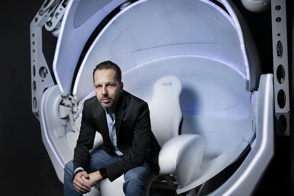 Michał Matuszewski, pomysłodawca i CEO AILIS