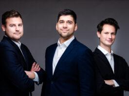 Na zdjęciu od Lewej – Bartłomiej Szczepański, Mateusz Zimnowodzki, Piotr Lewicki