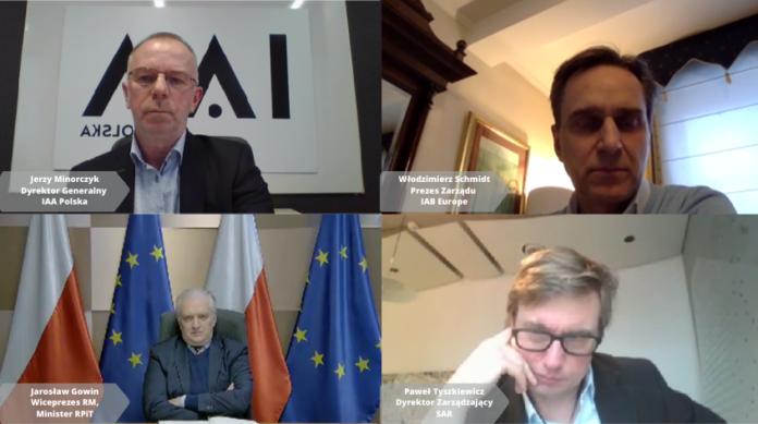 Podatek od reklamy – konsultacje IAA Polska, IAB Polska oraz SKM SAR z Wicepremierem Jarosławem Gowinem