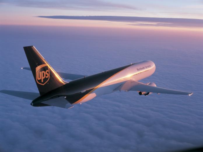UPS samolot