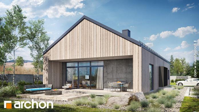 W stylu nowoczesnej stodoły