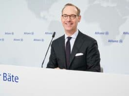 Oliver Bäte, CEO Grupy Allianz